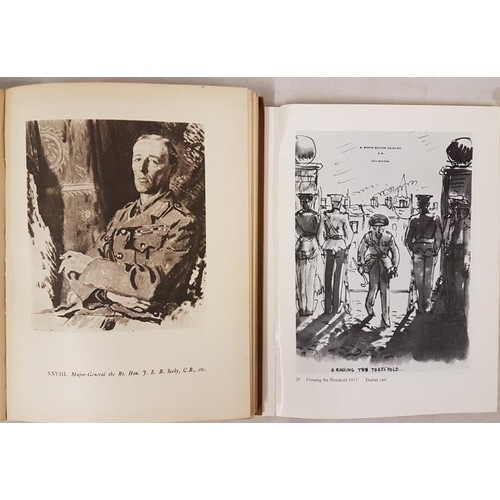 46 - Sir William Orpen. <em>An Onlooker in France</em>. 1917/19. 1924. Illustrated. Quarto; and Wil...