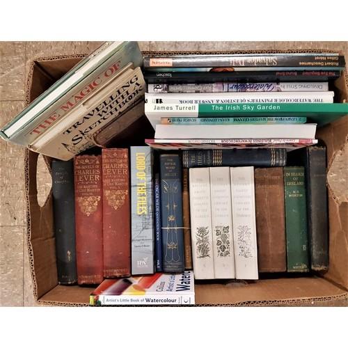 3 - Large Box of<em> General and Art Interest</em> Books...