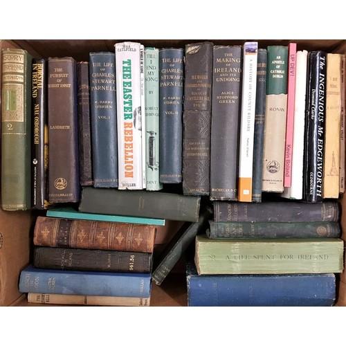 6 - A Box of<em> Irish Interest</em> book including a History of Kildare, etc....