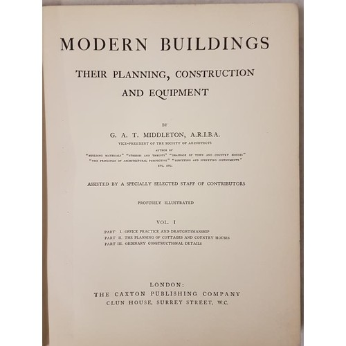 8 - <em>Cyclopedia of Civil Engineering</em> (9 vols) by the American Technical Society along with <em>M...