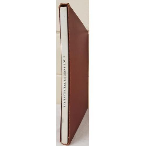 19 - <em>The Baptistère de Saint Louis</em> by D. S. Rice, D. S. Paris, 1953. Folio. Slip case. illustrat...