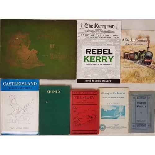 26 - <em>Kerry Interest.</em> Killarney, Glengarrif and South-west Ireland. <em>Ward Lock Guide</em>. Cir...