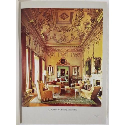 27 - <em>Dublin Decorative Plasterwork of the Seventeenth and Eighteenth Centuries</em>, C P Curran, 1967...