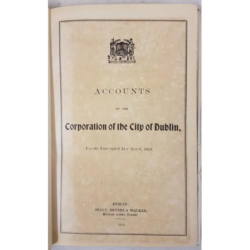 29 - <em>Dublin Corporation Reports</em> (1913 - 1921)...