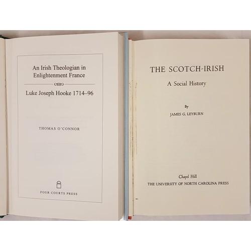 33 - Thomas V. O'Connor.<em> An Irish theologian in Enlightened France.</em> 1995 and James G. Leyburn. <...