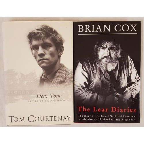 37 - <em>The Lear Diaries,</em> Brian Cox, First Edition, First Printing, 1992, Methuen, with dust jacket...