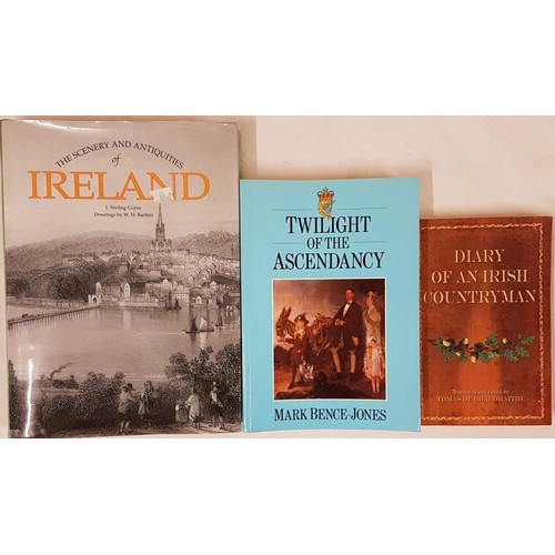 38 - W H Bartlett and J. Stirling Coyne – <em>The Scenery and Antiquities of Ireland.</em> Hardcover. Mer...