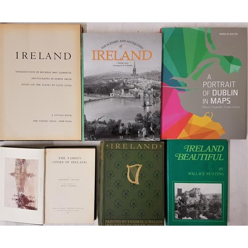 42 - <em>The Famous Cities of Ireland</em>by Stephen Gwynn, 1915; <em>Ireland Beautiful</em>by Wallac...