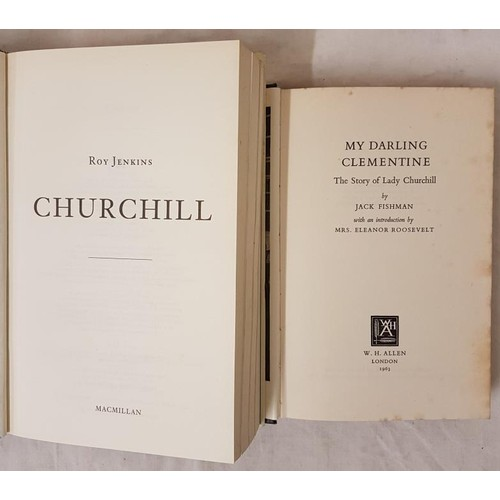 43 - Two Biographies – one of <em>Winston Churchill</em>, the other of his wife<em> Clementine Chur...