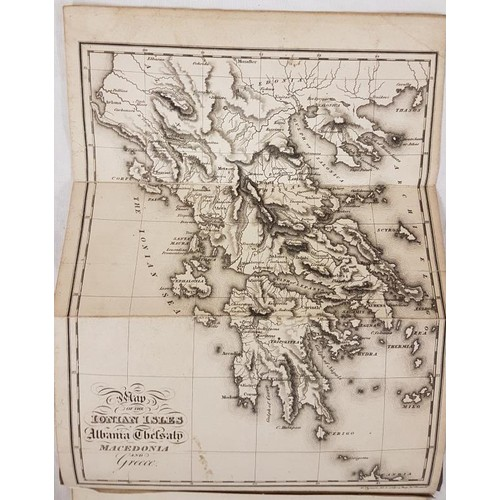 44 - Holland, <em>Travels in the Ionian Isles, Albania, Thessaly, Macedonia</em>, etc. 2nd ed 1819; 2 vol...