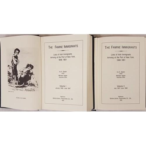 47 - The Famine Immigrants: <em>Lists of Irish Immigrants arriving at the Port of New York 1846-1851</em>...