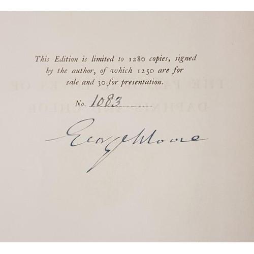 20 - Moore, George. <em>The Pastoral Loves of Daphne and Chloe.</em> Heinemann Ltd., London, 1924. Limite...