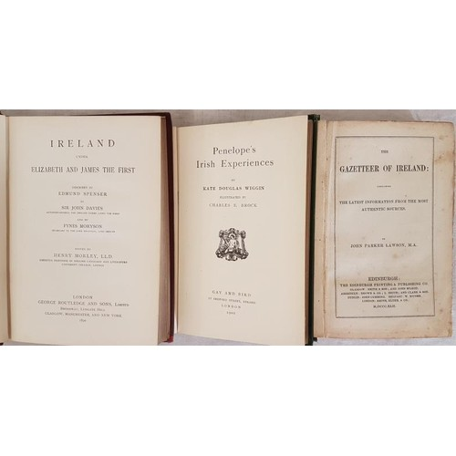 44 - Lawson, John Parker. <em>The Gazetteer of Ireland and Guide Book 1842 Containing The Latest Informat...