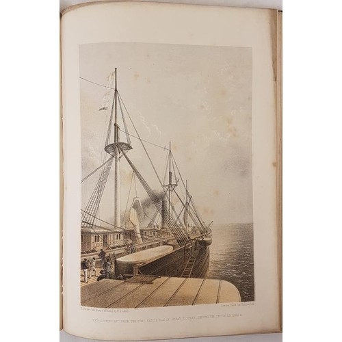 48 - W. H. Russell. <em>The Atlantic Telegraph</em>. 1865. 25 tinted lithographs including all the scarce...