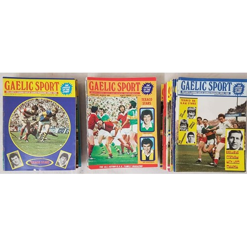 9 - Gaelic Sport - <em>The All-Action G.A.A. Family Magazine</em> - 71 Issues - 1980-1989...