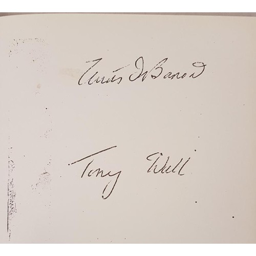 16 - <em>Hurling</em> by Tony Wall - re-print in blue cloth, gilt lettering, Kenny's Bookbindery, Galway...