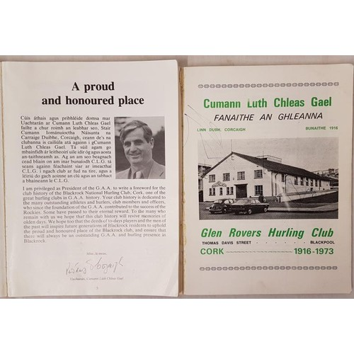 22 - Cork G.A.A. - <em>The Rockies - A History Of Blackrock Hurling Club, A Centenary Year Publication,</...