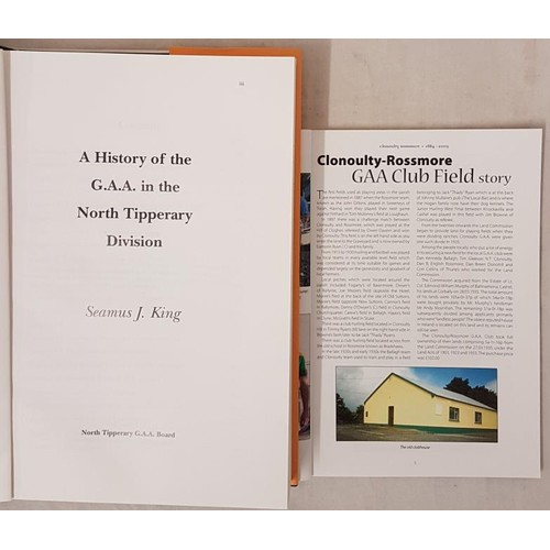 28 - Tipperary G.A.A. - <em>Clonoulty-Rossmore Celebrating The 125th Anniversary of the G.A.A. 1884-2009<...