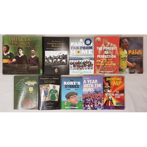 36 - <em>Collection of 10 G.A.A. Interest Books</em>...