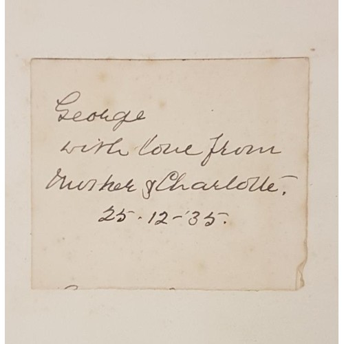 43 - <em>Lawrence Of Arabia,</em> Memorial: Small single fold sheet, issued by the Committee appointed to...