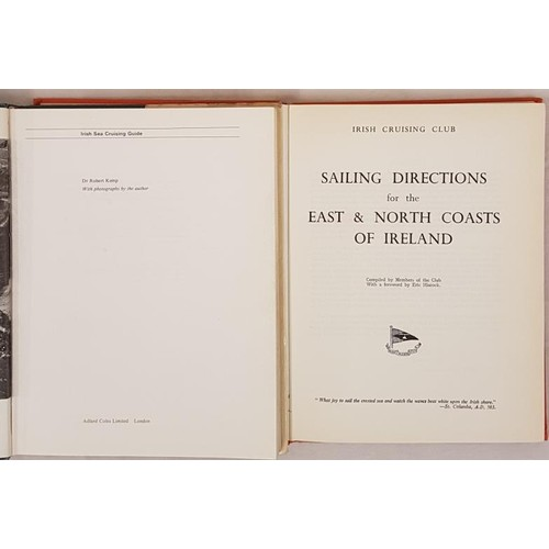 46 - Robert Kemp. <em>Irish Sea Cruising Guide</em>. 1976. 1st. Illustrated and <em>Irish Cruising Club &...