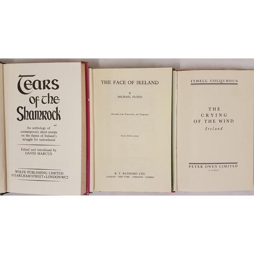 48 - David Marcus. Editor. <em>Tears of the Shamrock.</em> 1972. 1st, Michael Floyd. <em>The Fall of Irel...