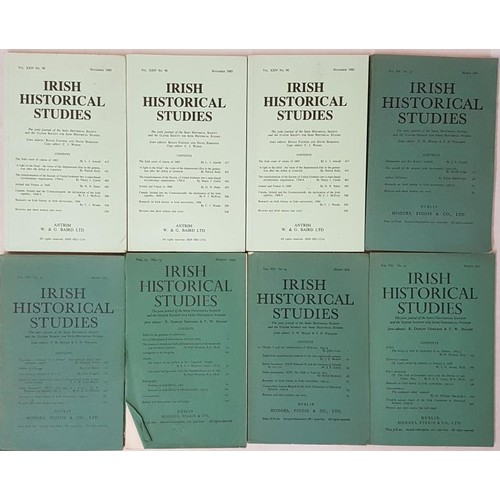 2 - A large Collection of the <em>Irish Historical Studies Journal</em>, comprising of mostly the earlie...