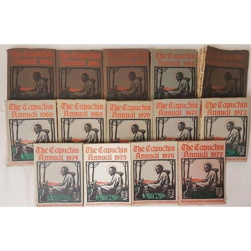 3 - <em>CapuchinAnnuals</em> - 1942, 1964, 1965, 1967, 1968, 1969 (2), 1970, 1971, 1972, 1974, 1975, 19...