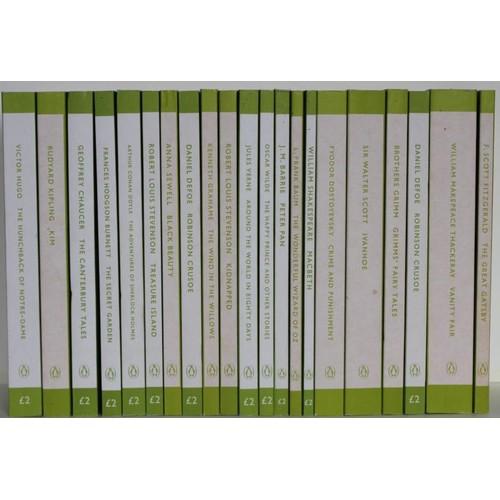 4 - <em>Literary Classics</em> – box includes 21 penguin classics and 7 hardback Readers Classics...