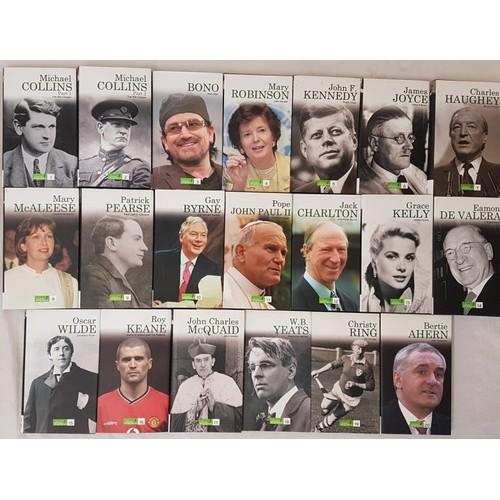 8 - Complete Set <em>Great Irish Biographies,</em> Irish Independent, 1990 (20)...