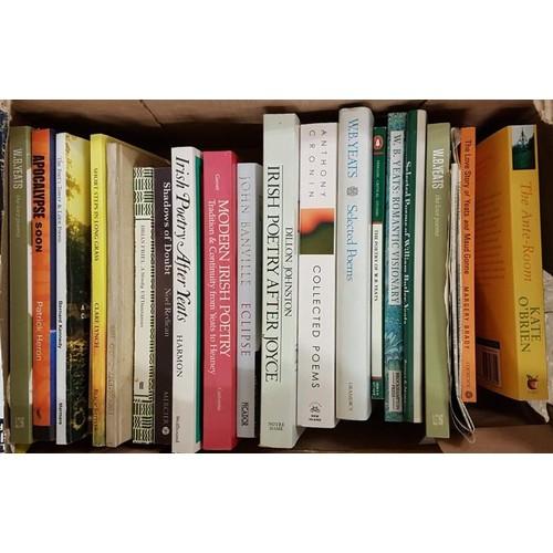 11 - Small box <em>Irish Poetry including multiple Yeats vols.</em> All vg. C2o vols....