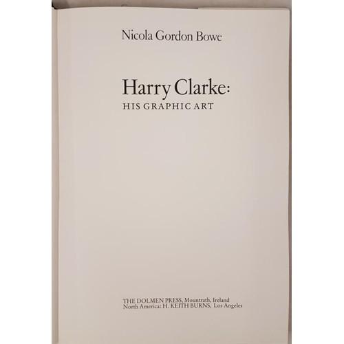 14 - Bowe, Nicola Gordon.<em> Harry Clarke: His Graphic Art.</em> Illustrated. Mountrath: Dolmen Press &a...