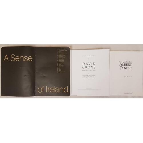 15 - O Conaola, <em>Saol and Saothar,</em> Albert Power, 1996; <em>A Sense of Ireland,</em> L. cat 1979, ...