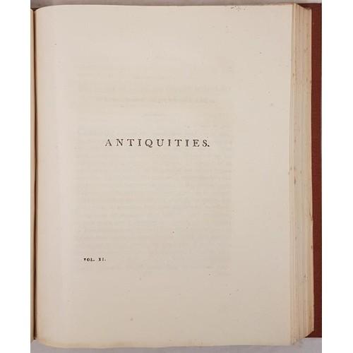16 - <em>Transactions of the Royal Irish Academy</em>. Bound volume. 1810. Articles by Irish scientists J...