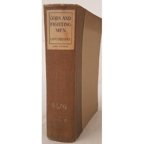 21 - Lady Gregory. <em>Gods and Fighting Men</em>. 1926. Original grey cloth, paper label on spine....