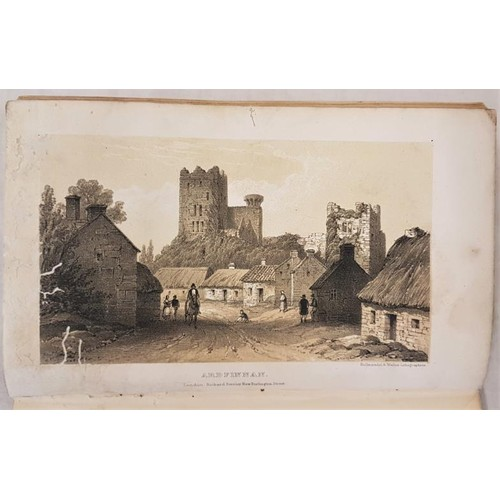 23 - WEST, Mrs. Frederic. <em>A Summer Visit to Ireland in 1846</em>. Illustrated with aquatints and wood...