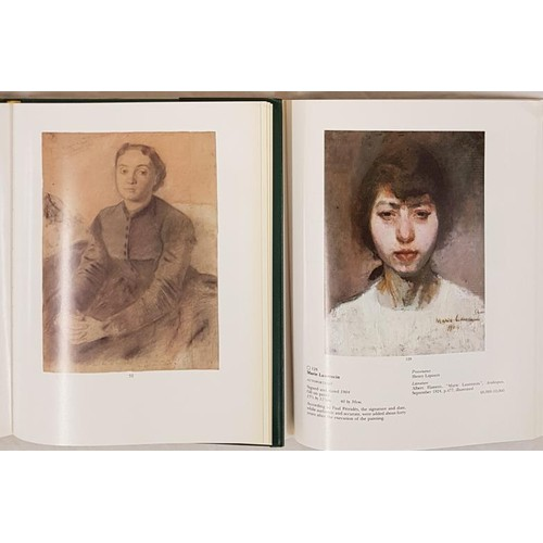 30 - Two vol C<em>atalogue from Sothebys </em>in slip case <em>for the paintings and drawings from the es...