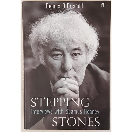 33 - <em>Stepping Stones – Interviews with Seamus Heaney</em> by Denis 0'Driscoll. 2008. 1st....