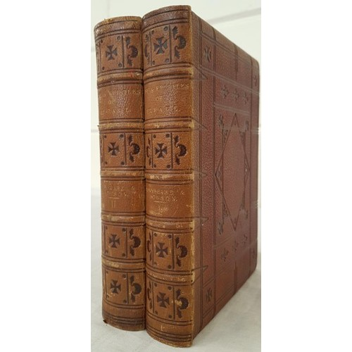 35 - Rev. W. Conybeare & Rev. J. Howson.<em> The Life and Epistles of St. Paul.</em> 1872. 2 vols. Fo...