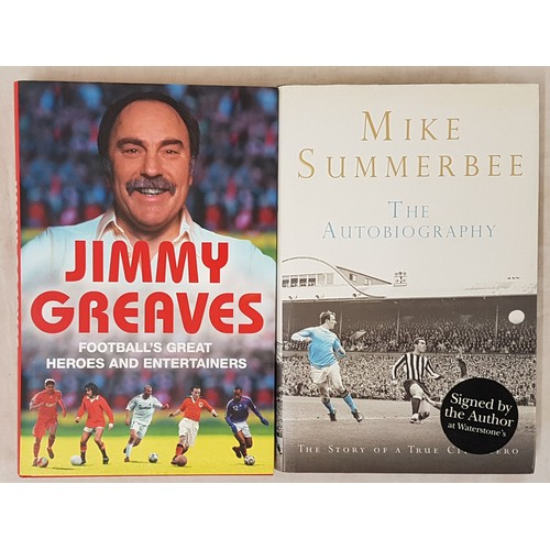 42 - <em>Football's Great Heroes and Entertainers,</em> Jimmy Greaves, 1st Edition, 1st Printing, 2...
