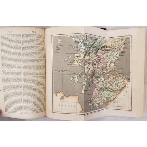 44 - B.P. Capper. <em>A Topographical Dictionary of the U.K.</em> 1808. 2 volumes. Numerous hand coloured...