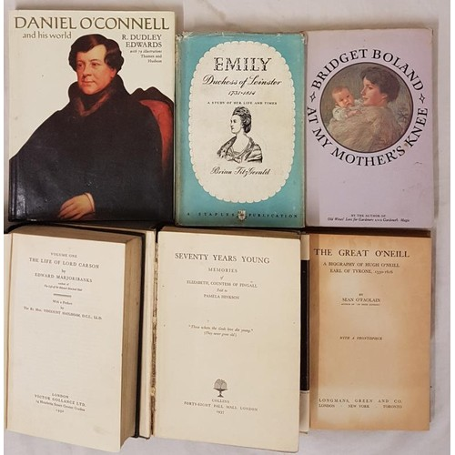 47 - <em>The Great O'Neill. Biography of Hugh O'Neill Earl of Tyrone</em> by O'Faolain....