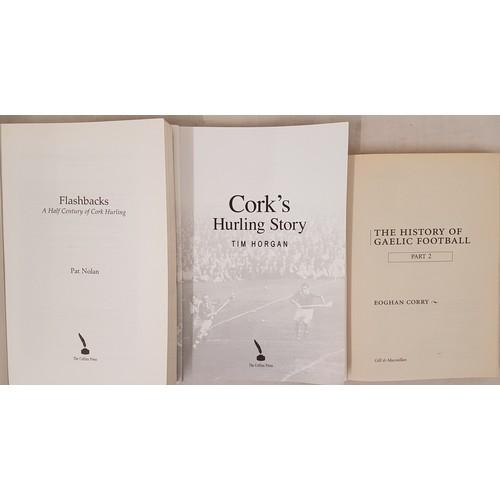 9 - GAA: <em>Flashbacks, a half century of Cork Hurling</em>, 8vo, cards, 2000; <em>Cork's Hurling...