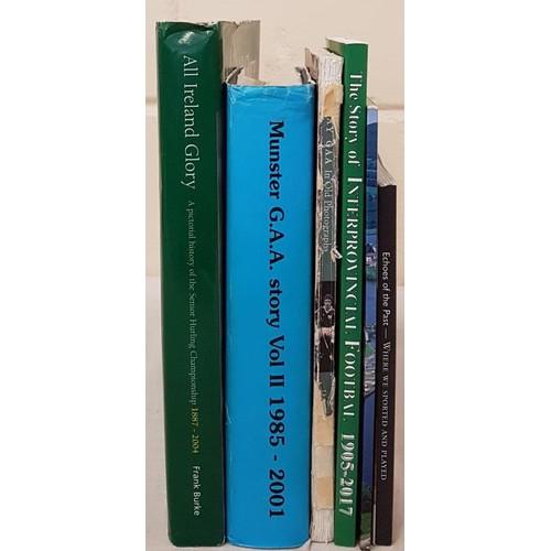 10 - <em>Hurling In The Shadows - Commemorative Booklet in memory of Olive O'Brien;</em> <em>Munster G.A....