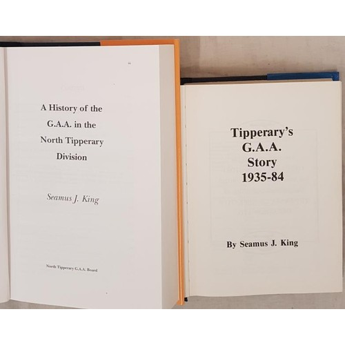 11 - <em>Tipperary's G.A.A. Story 1935-84</em> by Seamus King and <em>A History of the G.A.A. in the Nort...