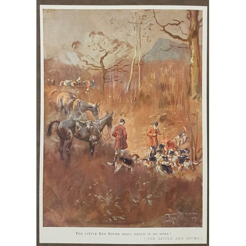 97 - Hunting Songs. 1925. Coloured illustrations.