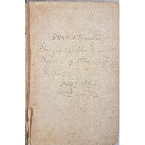 102 - Sir William Gregory, an autobiography, edited by Lady Gregory, 2nd ed L. 1894. Large 8vo; pencil ins...