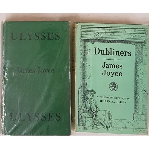 106 - James Joyce. Ulysses. 1969. D.J.; and J. Joyce. Dubliners 1956. Illustrated d.j. (2)...