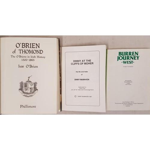 107 - Clare interest. O'Brien of Thomond. O'Briens in Irish History 1500-1865 by Ivar O'...