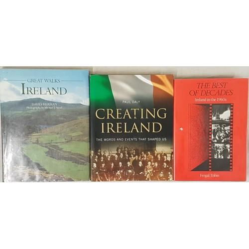 115 - Fergal Tobin, The Best of Decades, Ireland in the 1960s, 1984, Gill & Macmillan, Hardback in Dus...